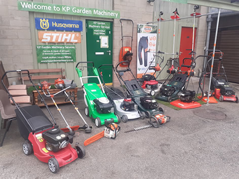 garden machinery for sale
